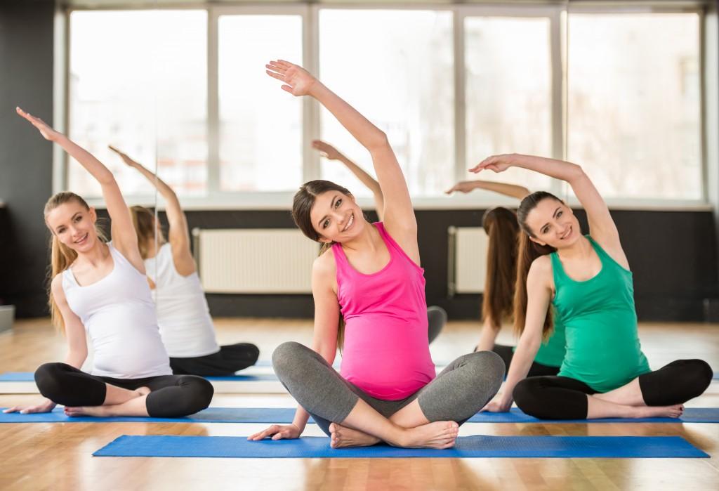 Приучить малыша к спорту можно еще во время беременности